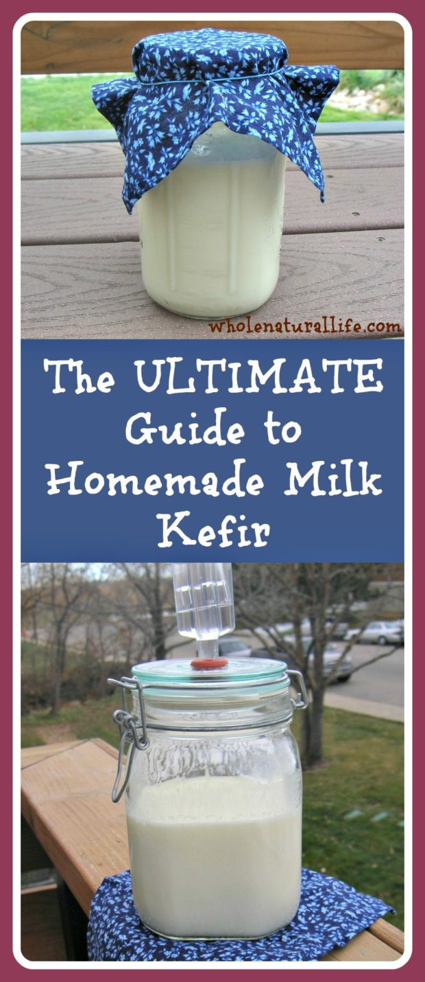 Milk kefir is a fermented drink that's bursting with beneficial probiotics. Making your own milk kefir is a great way to save money while consuming healthy probiotics--and it's so easy! Click here to learn how to make milk kefir today.