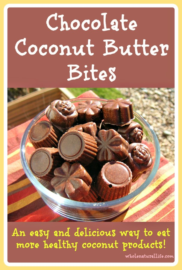 Chocolate Coconut Butter Bites: An Easy and Delicious Way to Eat More Healthy Coconut Products!
