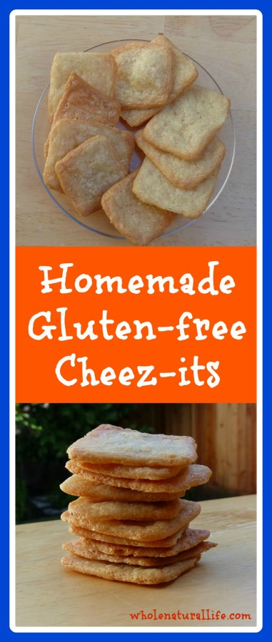 Homemade Gluten-free Cheez-its