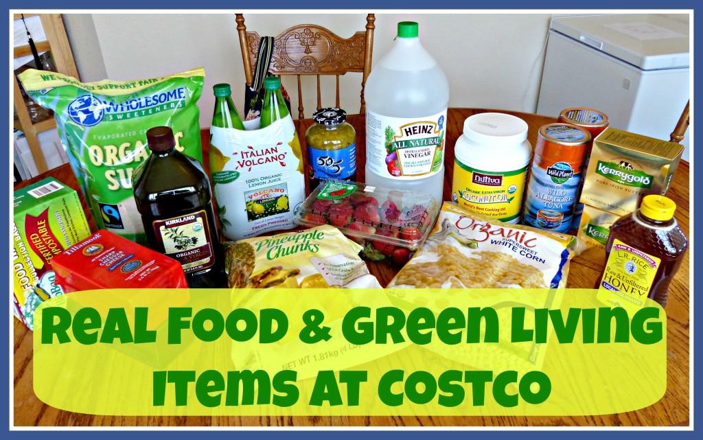 Real Food & Natural Living Items at Costco
