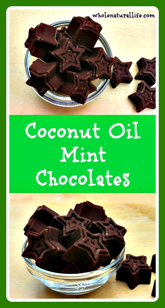 Looking for an easy and delicious way to add healthy coconut oil to your diet? These coconut oil mint chocolates are SOOO good! They're also dairy-free, and refined sugar-free. Click here to try them today!