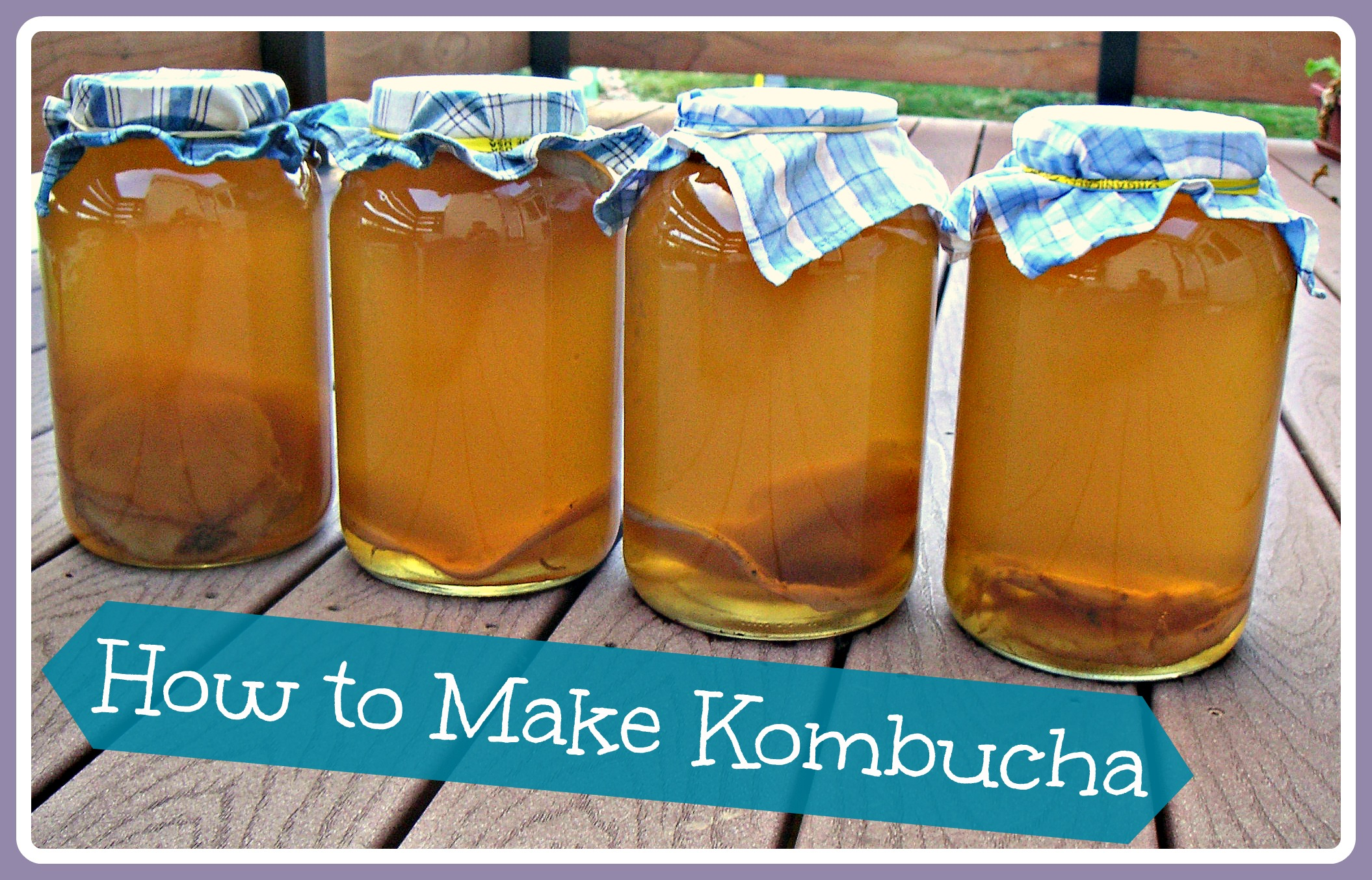 how to make kombucha whole natural life. Black Bedroom Furniture Sets. Home Design Ideas
