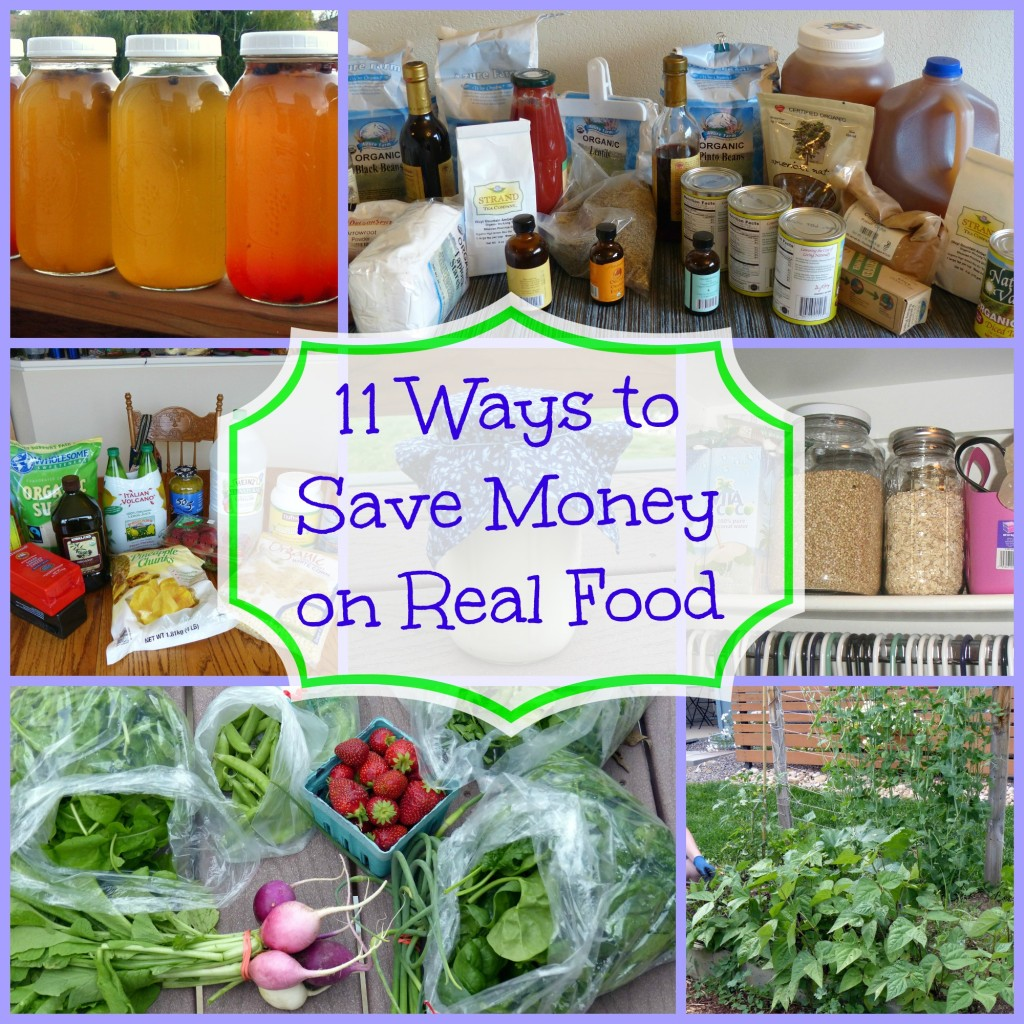 Ways to Save Money on Real Food