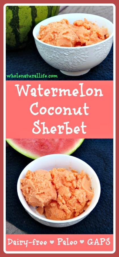 Chocolate Coconut Sherbet Recipe — Dishmaps