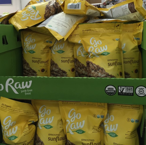 Sprouted Sunflower Seeds at Costco