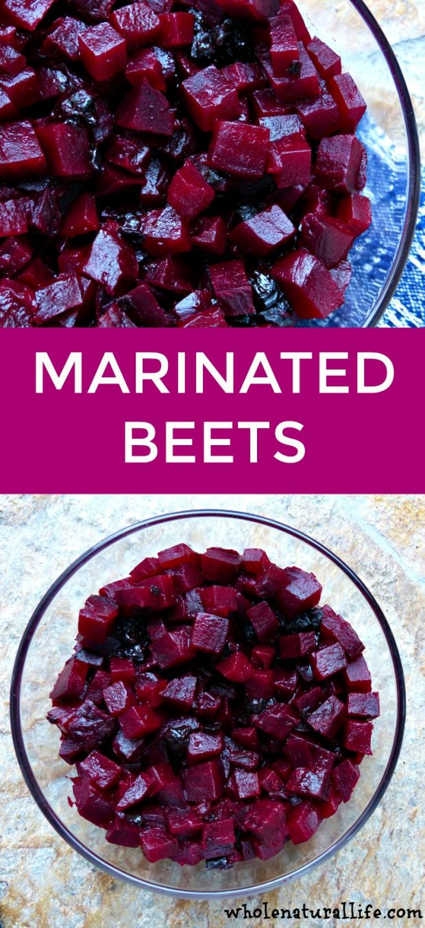 Easy marinated beets recipe | Vegan marinated beets | Gluten-free marinated beets