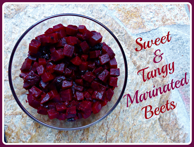 Sweet and Tangy Marinated Beets large