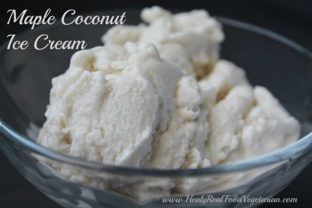 Maple Coconut Ice Cream