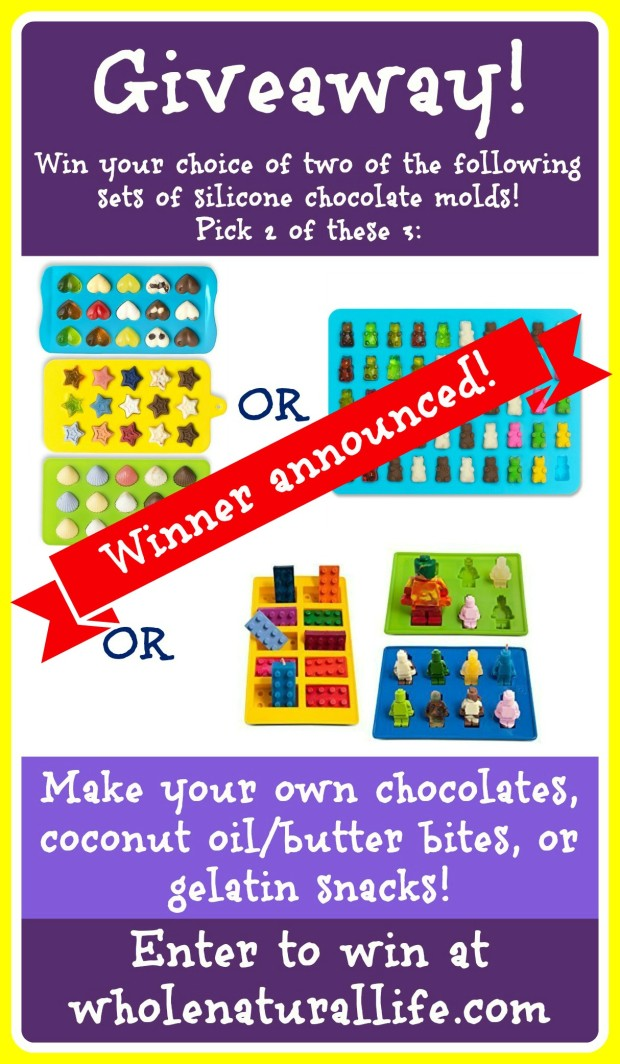 Silicone Chocolate Molds Giveaway
