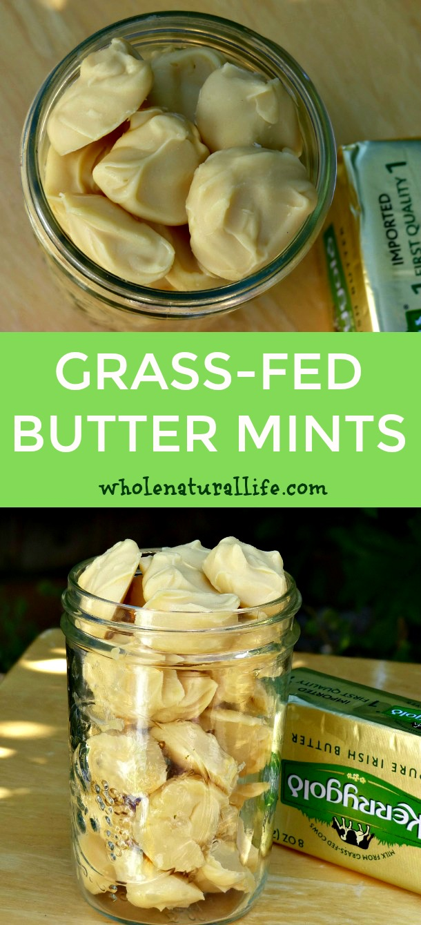Healthy butter mints | Paleo butter mints | Low carb butter mints | Butter fat bombs