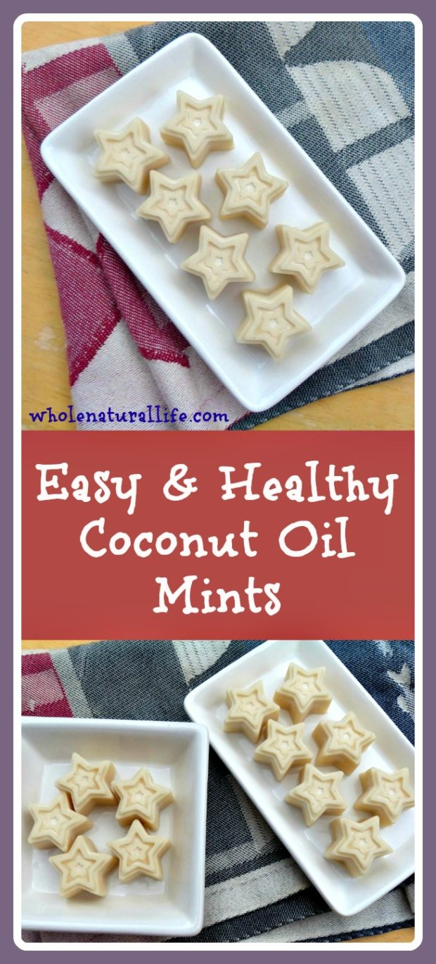 These coconut oil mints are easy to make and a great way to add more healthy coconut oil to your diet. Lightly sweetened with honey, these mints are gluten-free, Paleo, and suitable for the GAPS diet.