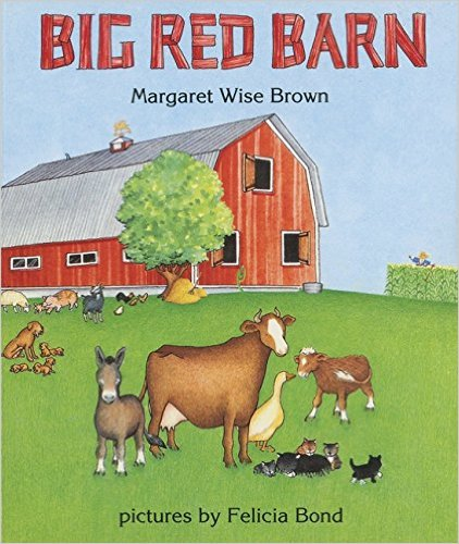 Big Red Barn is a great gift for toddlers.