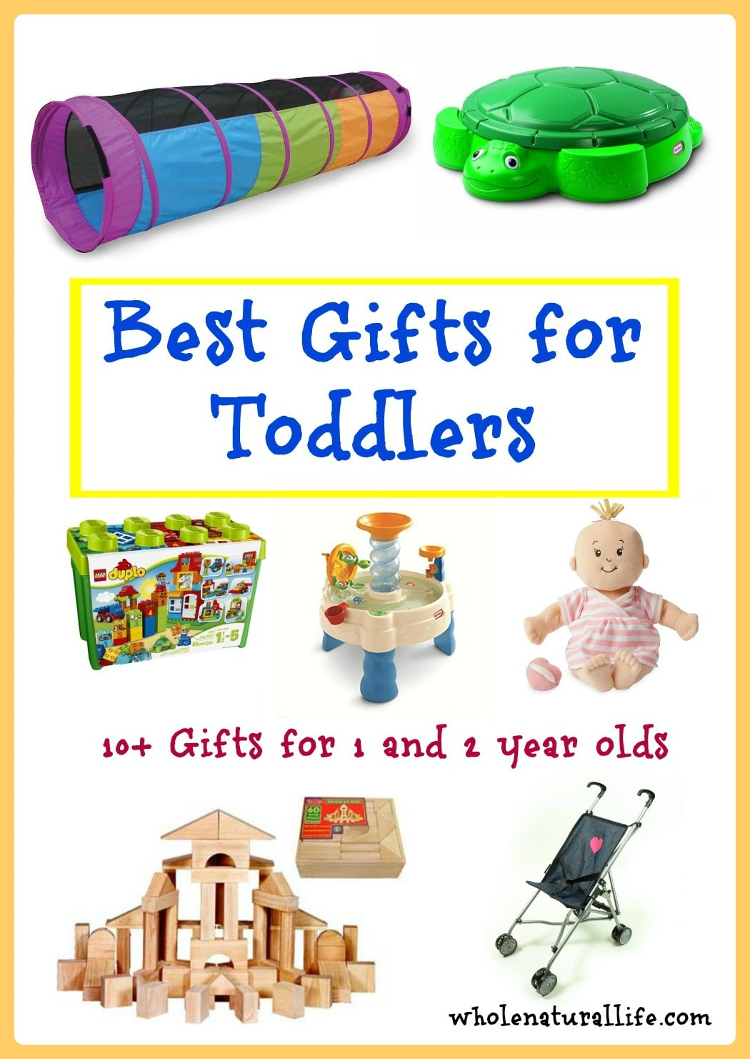 The Best Gifts for Toddlers (Ages 1 and 2) - Whole Natural Life