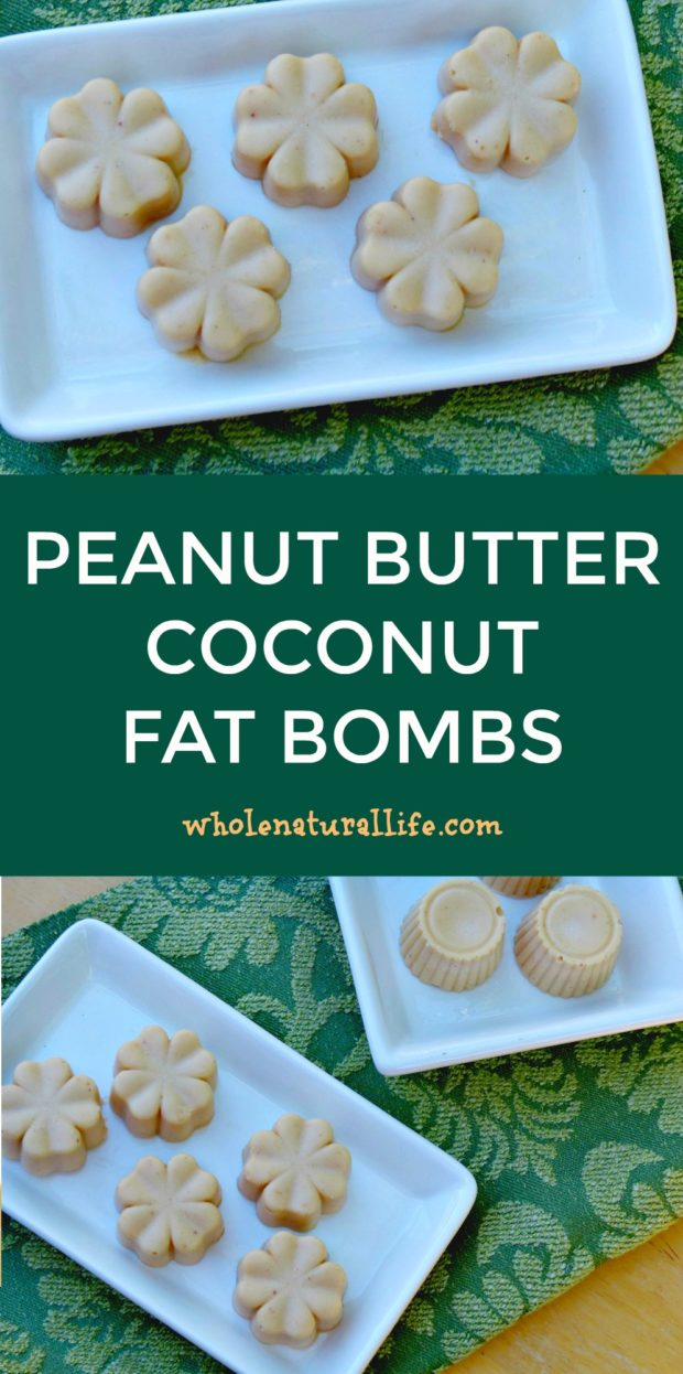 Coconut oil fat bombs | Peanut butter fat bombs | Dairy-free fat bombs | Easy fat bombs