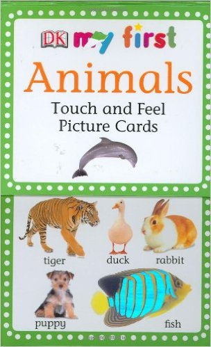 These animal picture cards are a great gift for toddlers!