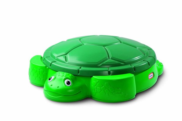 This turtle sandbox is a great gift for toddlers!