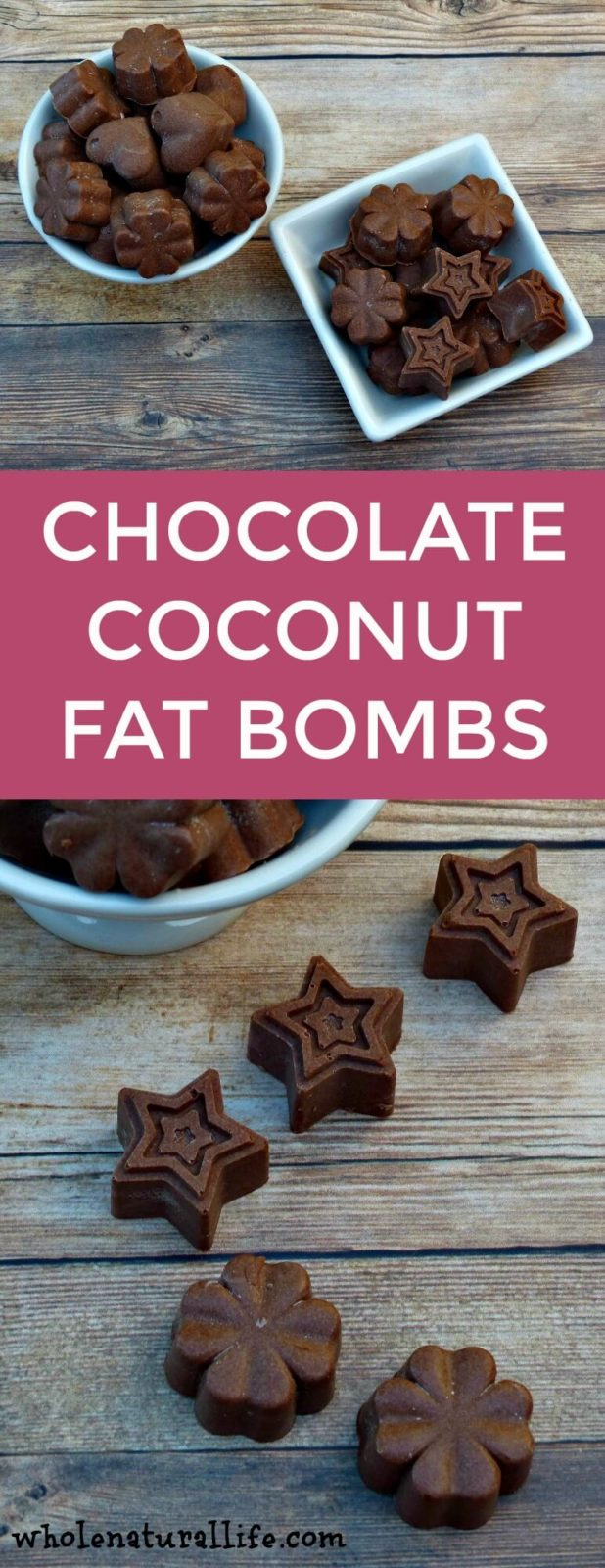 Chocolate coconut fat bombs | Chocolate fat bombs | Coconut oil fat bombs | Easy fat bombs